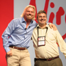 Doug and Sir Richard Branson