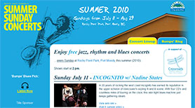 Port Moody's Summer Sunday Concerts